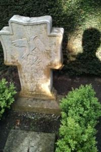 Bij het graf van mijn ouders